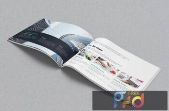 Landscape Brochure and Catalog Mockups R4ERECY 4