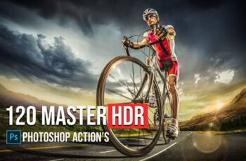 120 Master HDR Photoshop Actions 5783739 2