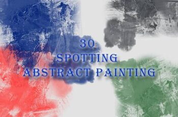 30 Spotting Abstract Painting Brushes M4RTWAZ 12