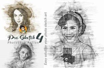 Pro Sketch Photoshop Action 5777112 2