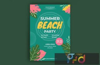 Beach Party Poster U57ECZE 12
