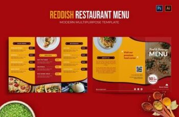 Reddish - Restaurant Menu 7RNN24B 10