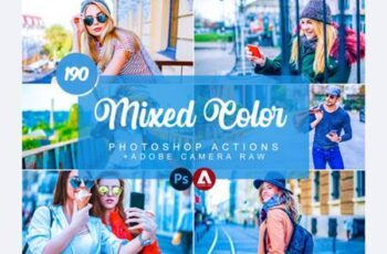 Mixed & Color Photoshop Actions 7498559 3