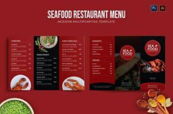 Seafood - Restaurant Menu 39AZKRM 9