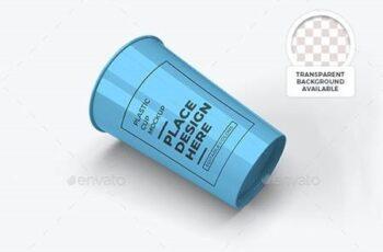 Plastic Cup Mockup Template Set 29926882 12