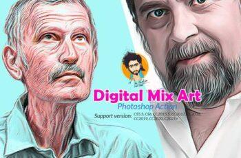 Digital Mix Art Photoshop Action 5748066 9