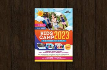 Kids Camp Flyer R6JN9P2 7