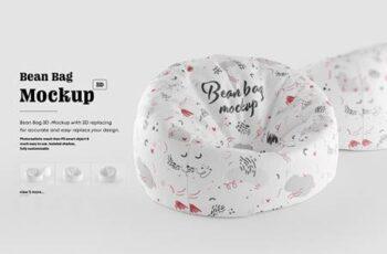 Bean Bag 3D Mockup 5342926 6