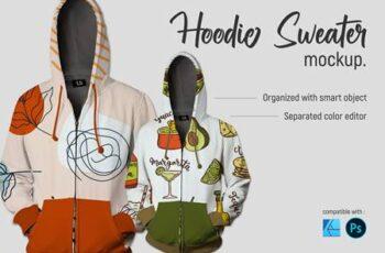Hoodie Sweater - Mockup 5754511 6