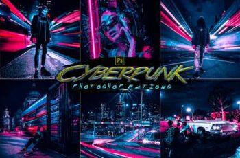 Cyberpunk Photoshop Actions 30123754 15