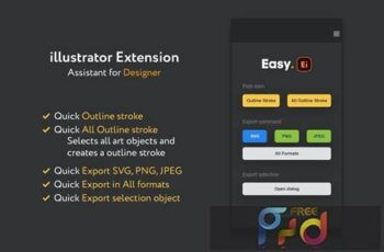 Easy illustrator tools X9PQ4TS 6