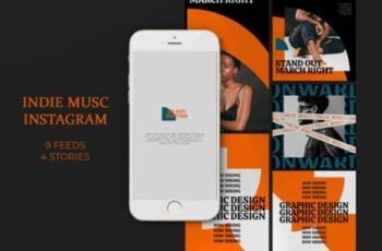 Indie Musc Instagram Templates 8173301 5