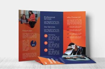 Business Agency – Trifold Brochure GT5HNHF 2