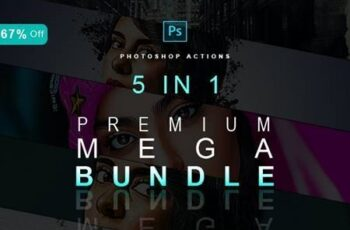 5IN1 Mega Bundle - Photoshop Effects 30197405 7