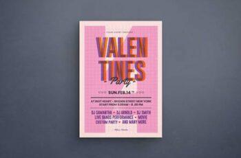 Valentine Party Flyer 7K4E5KF 6