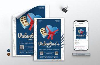 Valentine vol.02 - Flyer, Poster & Instagram RB FFUUAJM 11