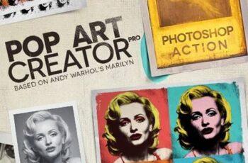 POP ART Creator PRO - Photoshop Action 4183620 7