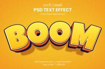 40 Luxury & Cartoon Photoshop Text Effects - Golden & Comic Styles 29800611 16