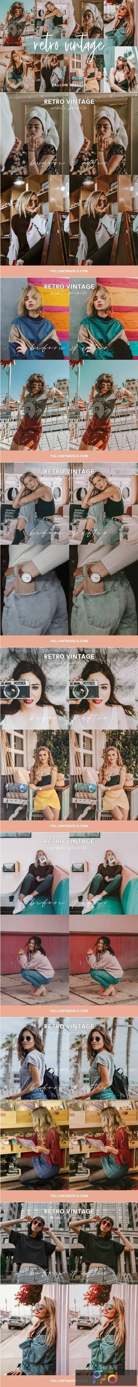 Retro Lightroom Mobile Presets 5014190 1