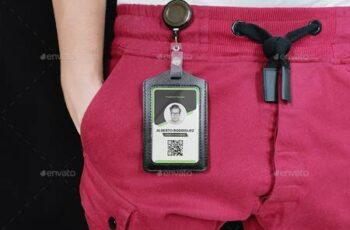 Leather Identity Card Holder Mockup 30280963 15