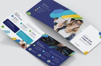 Brochure – Event Business Bi-Fold A5 Landscape R2DCAJC 10