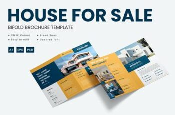 House for sale - Bifold Brochure Template BXGXNQ7 6