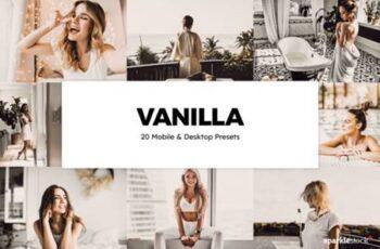 20 Vanilla Lightroom Presets and LUTs 8252452 11