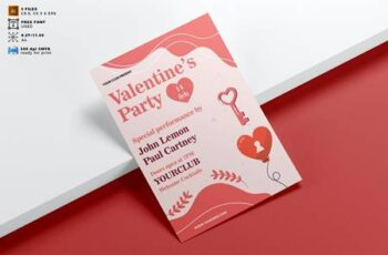 Valentines Day Flyer Template Vol. 07 VWYD7AG 7
