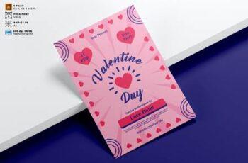 Valentines Day Flyer Template Vol. 09 CPYTAVK 2