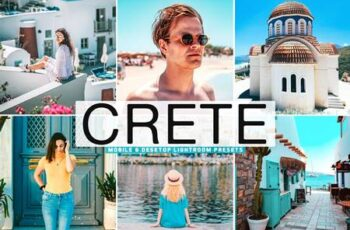 Crete Mobile & Desktop Lightroom Presets KUVM9SZ 2
