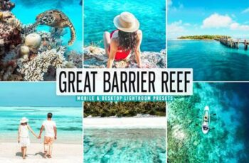 Great Barrier Reef Pro Lightroom Presets CRYBCX6 6
