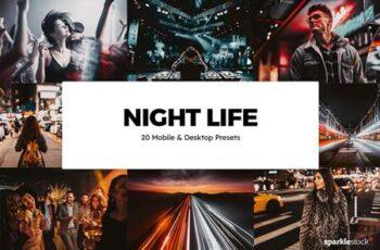 20 Night Life Lightroom Presets & LUTs 5859547 15
