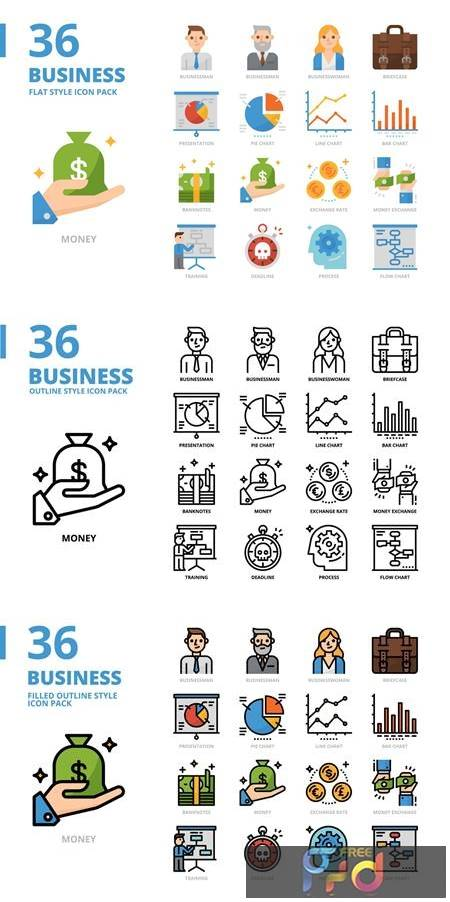 Business Icons 1