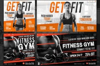 20 Facebook Sport Fitness Banners 30127784 11