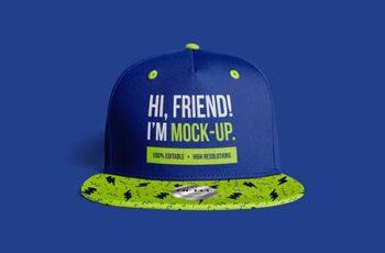 Hip-Hop Baseball Cap Mockups 5325663 7