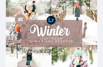 Winter Mobile and Desktop PRESETS 7477356 8