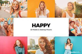 20 Happy Lightroom Presets & LUTs 5855812 4