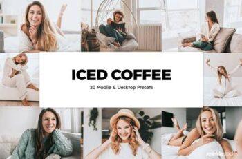 20 Iced Coffee Lightroom Presets & LUTs 5842198 3
