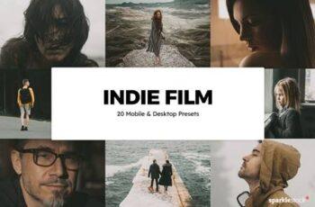 20 Indie Film Lightroom Presets & LUTs 5844319 2