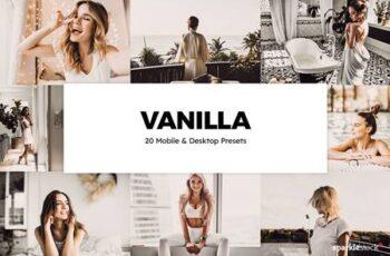 20 Vanilla Lightroom Presets & LUTs 5847511 1