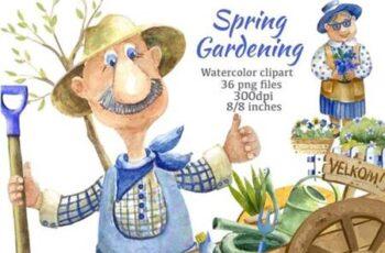 Spring Gardening Clipart 8542740 4
