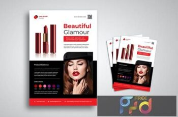 Beautiful Make Up Flyer 6NFP3PK 5
