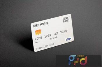 Credit Card Mockup C3DDADR 13