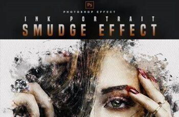 Smudge Portrait - Photoshop Effect 30177572 4