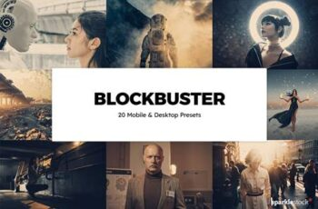 20 Blockbuster Lightroom Presets & LUTs 5830247 10