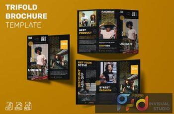 Urban Fashion - Trifold Brochure Template 9NXW9HR 14