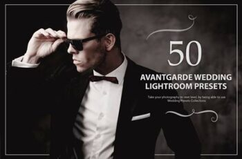 50 Avantgarde Wedding Lightroom Presets 5784125 15