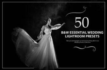 50 B&W Essential Wedding Presets 5784137 9