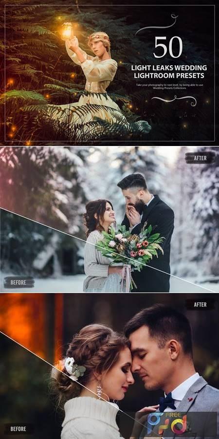 50 Light Leaks Wedding Presets 5784153 1