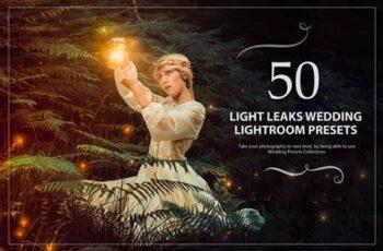 50 Light Leaks Wedding Presets 5784153 6